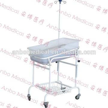 Hospital Caliente venta de altura ajustable metal marco bebé cuna móvil