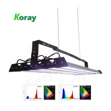 High ppfd led grow light greenhouse medical headlight led for vertical farming systems