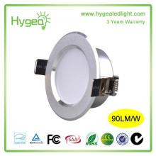 Оптовое хорошее качество Утопленный 8w AC 200-240V led downlight 8w cob led downlight