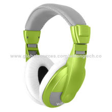 Stereo Audio Headphones with Custom Logos Printing Over the Ear Design, 40mm Drive Unit