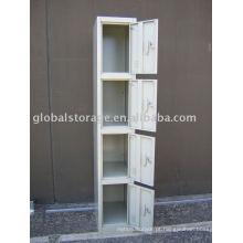 Armário de armazenamento de aço individual