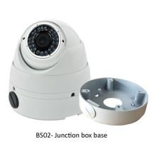 Base da canalização dos acessórios da câmera do CCTV do suporte da caixa de junção para a câmera do IP da série AHD CVI TVI da abóbada do IR