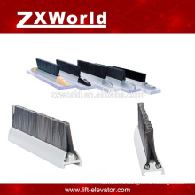escalator spare parts, safety double row skirt brush