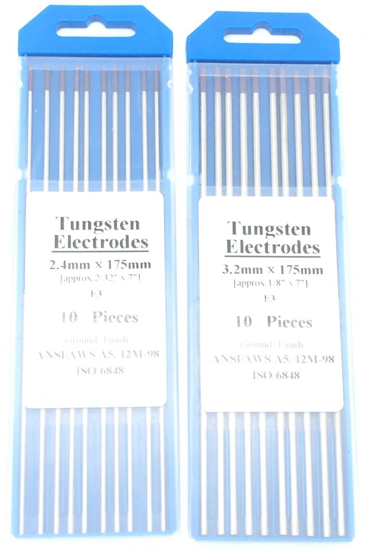 Argon Welding Tungsten Needle 2 4mm X 175mm Purple E3