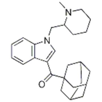 AM -1248, 1-[(N-Methylpiperidin-2-yl)Methyl]-3-(adaMant-1-oyl)indole CAS 335160-66-2