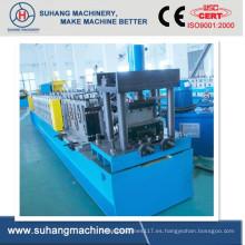 Forsale de alta velocidad dos en uno Industrial Roller puerta de rodillo de metal que forma la máquina