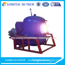 Small Movable Tiltable Reversible Multifunctional Glass melting crucible furnace