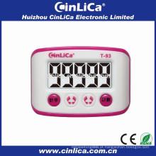 20 instruções de memória de volta para usar pedômetro digital pedal de calorias pedômetro T-93
