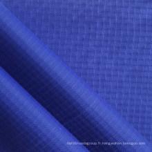Tissu en nylon diamant Ripstop imperméable à l'eau avec PU