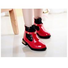 SD00079 Melhor Qualidade Crianças Princesa Sapatos 2016 Primavera Novo