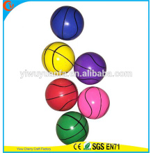 Promoção de Design de Novidades High Rubber Basketball Type Bounce Ball Toy para Glow Vending Machine