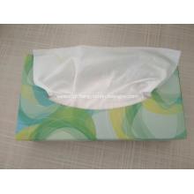 Atacado barato caixa plana grande pacote de tecido facial