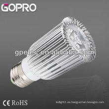 CE / ROHS 500lm E27 LED bulbo de punto