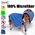 Super Water Absorbent Dog Bath Towel Bathrope Microfiber Dog Pet Towel