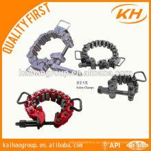 Abrazadera de seguridad de collar de taladro menor precio Dongying KH