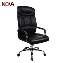 Promotion Black PU high back thicken modern Leather Luxury Executive Office Chair For Boss