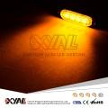 Ultra Fino 4-LED Aviso de Emergência Luzes Piscando Barra de Luz Estroboscópica Superfície Montar Para O Carro Van Caminhão Jeep 4x4 SUV ATV UTV