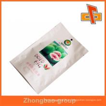 Bolsa de higos secos impresa con sello térmico para embalaje de frutos secos
