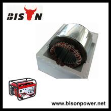 BISON China 2.5kw 2.5kva 100% Novo Material Copper Stator e Rotor Generator Alternator