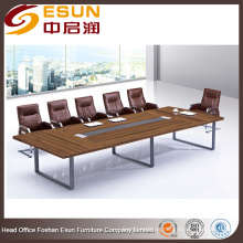 Mesa de conferencia moderna ejecutiva de lujo para sala de reuniones