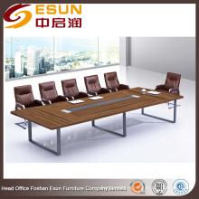 Mesa de conferência de luxo executiva moderna para sala de reuniões