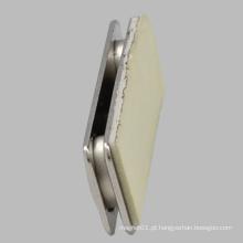 Rectangle Tipo de Aço Magnético Badge