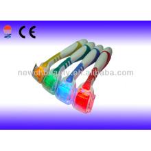 Blue Photon Electric Derma Roller Roller Roller Masajeador para Cuidado de la Piel Cuidado de la Belleza