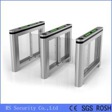 IR Sensor Fast Speed ESD Glass Turnstiles