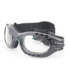 Klare Linse und schwarze Beine schützende Glassess mit Ce