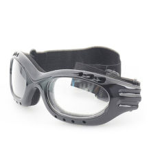 Clear Lens and Black Legs Protective Glassess with Ce