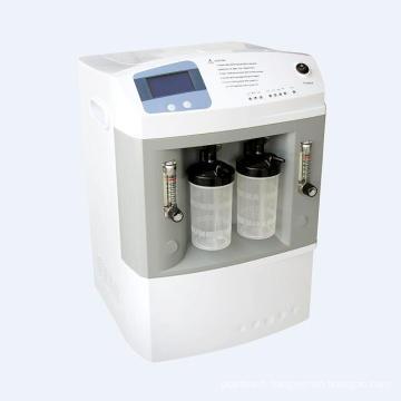 Concentrateur numérique portatif d'oxygène de débit de double médical avec l'écoulement 5L