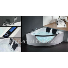 EAGO Two person Corner massage bathtub