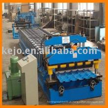 Máquina formadora de rolo para azulejos de aço