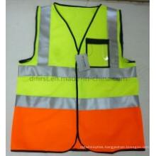 2016 Popular Safety Vest with 3cm Reflective Tape