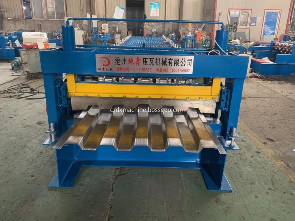 Deck Car Plate Formig Machine