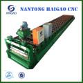 Rollo de acero de color de una sola capa de color CNC que forma la máquina / rollo de panel de techo automático que forma la máquina