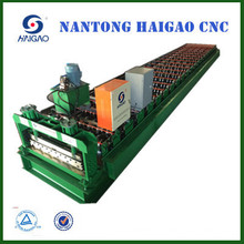 Single Layer CNC Color Steel roll forming machine / roof machinary