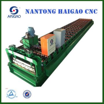 Rouleau d'acier de couleur de la couleur de CNC de simple couche formant la machine / rouleau de panneau automatique de toit formant la machine