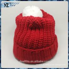 Billig und hochwertig mit benutzerdefinierten Design gestrickten Hut in China gemacht