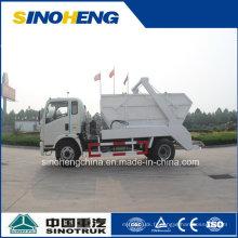 Sinotruk 5 Ton Skip Loader Truck pour les déchets de transport