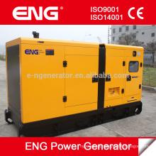 motor diesel refrigerado por agua accionado por CUMMINS grupo electrógeno silencioso 128kw