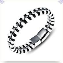 Moda jóias de couro pulseira de couro da jóia (lb119)
