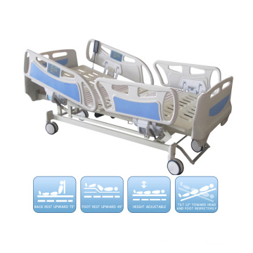 Elektrisch Fünf Funktions-ICU Krankenhausbett mit Ce ISO Standard