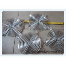 Металлическая крышка вентилятора из сварной проволочной сетки / решетка вентилятора / защита вентилятора