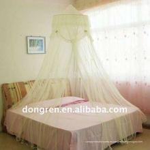 Redonda mosquitero / poliester cama de la cama de las niñas