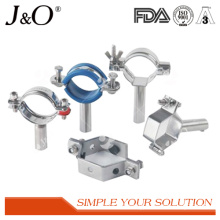 Stainless Steel Sanitary Tube Pipe Support Holder