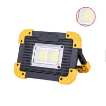 Rechargeable Work Light, LED Floodlight Portable Waterproof LED Soptlight for Outdoor Camping Hiking Emergency Car Repairing