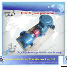 Jinhai heat preservation heavy fuel oil transfer gear pump(WQCB) transfer gear pump