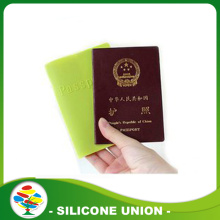 Promotion gift portable cheap silicone passport cover