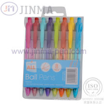 The Most Popular Gift Box with 8 PCS Gel Ink Pen Jms1036A